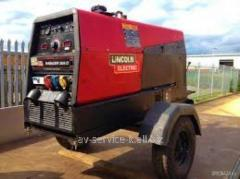 Rent of the diesel welding lincoln electric ranger