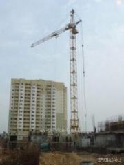 Аренда башенного крана кб-405 1а