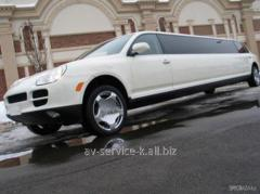 Rent of a limousine 1
