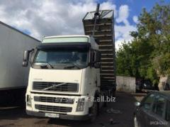 Rent of the Volvo lorry