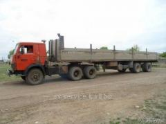 Rent of the lorry KamAZ