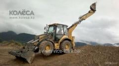 Rent of the cat 434e excavator