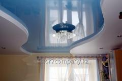 Installation of stretch ceilings in Almaty