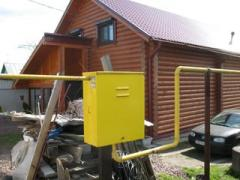 Autonomous gasification in the private house