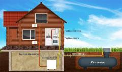 Autonomous gasification of the private house