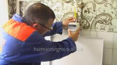 Replacement of a gas meter