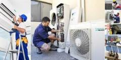 Installation of air conditioning systems from