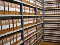 Archiving of accounting documents from CORPUS