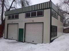 Монтаж  холодильного оборудования на температурный режим от  + 5 до – 10  включая рампу , ограждения и  навес  для  установки  агрегатов