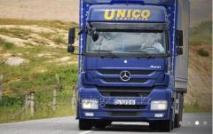 Transportation of goods from Kazakhstan to Russia