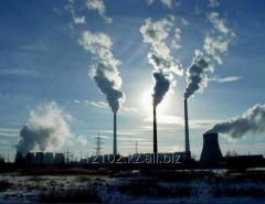 The analysis of emissions of toxic gases in the