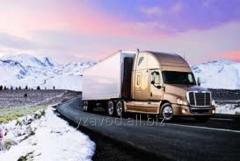 Автомобильные международные перевозки и