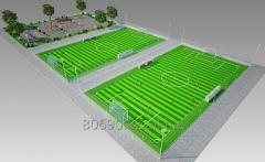 Строительство мини-футбольных полей