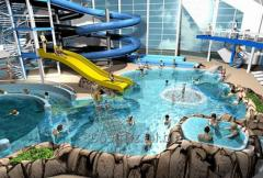 Строительство открытых аквапарков