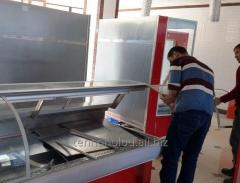 Installation and adjustment of refrigerating
