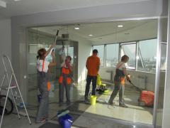 Уборка после ремонтных и строительных работ