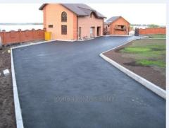 Installation and installation of curbs in Astana