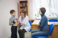 Primary appointment of the pediatrician of 1