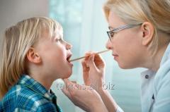 Vacuum drainage of a nasal cavity