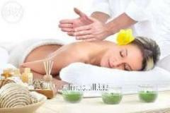 Facial massage of 15 min.