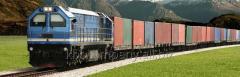 Rail transportation of loads