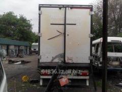 Repair of trailers of cargo cars