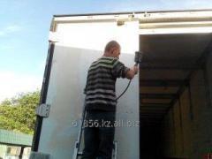 Painting of refrigerators