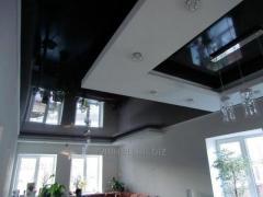 Установка и дизайн натяжных потолков многоуровневых модель 1