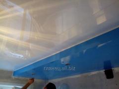 Установка и дизайн натяжных потолков многоуровневых модель 13