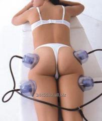 Услуга баночного статического зонального массажа