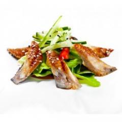 Доставка блюд японской кухни - Унаги сарада