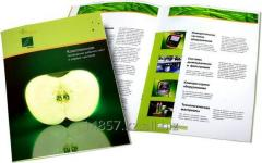 Offset printing of booklets and prospectuses