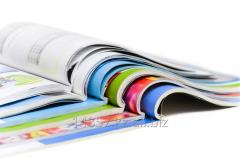 Offset printing of books and magazines