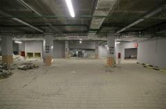 Construction of underground parkings