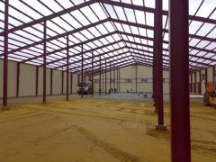 Construction of warehouse, warehouses