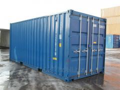 Инспекция при обмене контейнеров