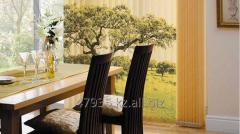 Photo printing on blinds to the dining room