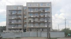 Construction of mnogotoetazhny complexes, houses,