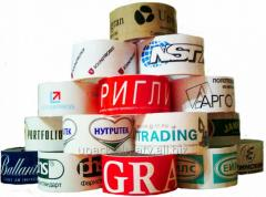 Production of Scotch tape with image,
