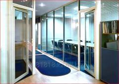 Перегородки офисные и интерьерные: изготовление и
