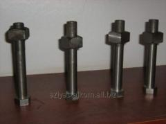 Production of anchor bolts in Almaty.Tokar