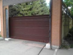"Repair of Gate of ""ALUTECH"
