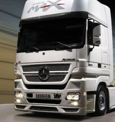 Services in maintenance service and repair of  hired lorries