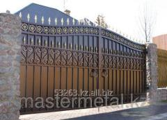 Изготовление любых металлических ворот