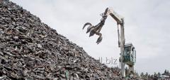 Acceptance of scrap metal