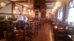 Отделка баров и ресторанов деревом в Астане