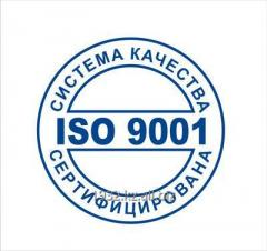 Quality management system of ISO 9001