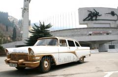Аренда ретро автомобиля Газ 13 Чайка 1973 г.
