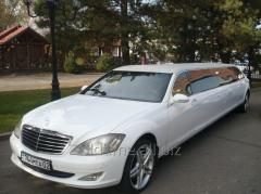 Rental of limousine