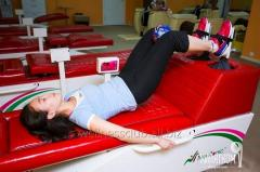 Services of fitnes-centers